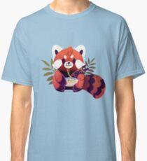 Red Panda Eating Ramen Classic T-Shirt