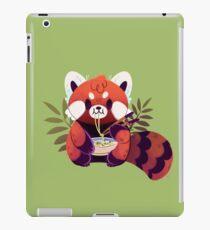 Red Panda Eating Ramen iPad Case/Skin
