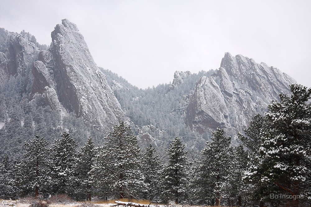 Rocky Mountain Flatiron by Bo Insogna