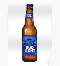 Bud Light Beer Poster