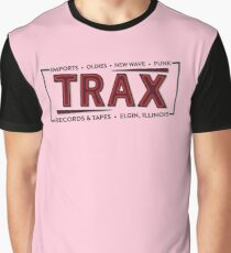 """""""TRAX"""" Records Store - As seen on """"Pretty in Pink"""" - 80's Graphic T-Shirt"""