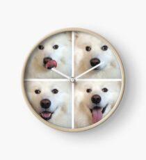 Die vier Gesichter eines Samojeden Uhr