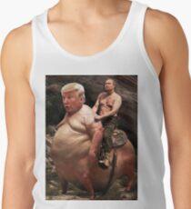 Camiseta de tirantes Putin montando a Trump