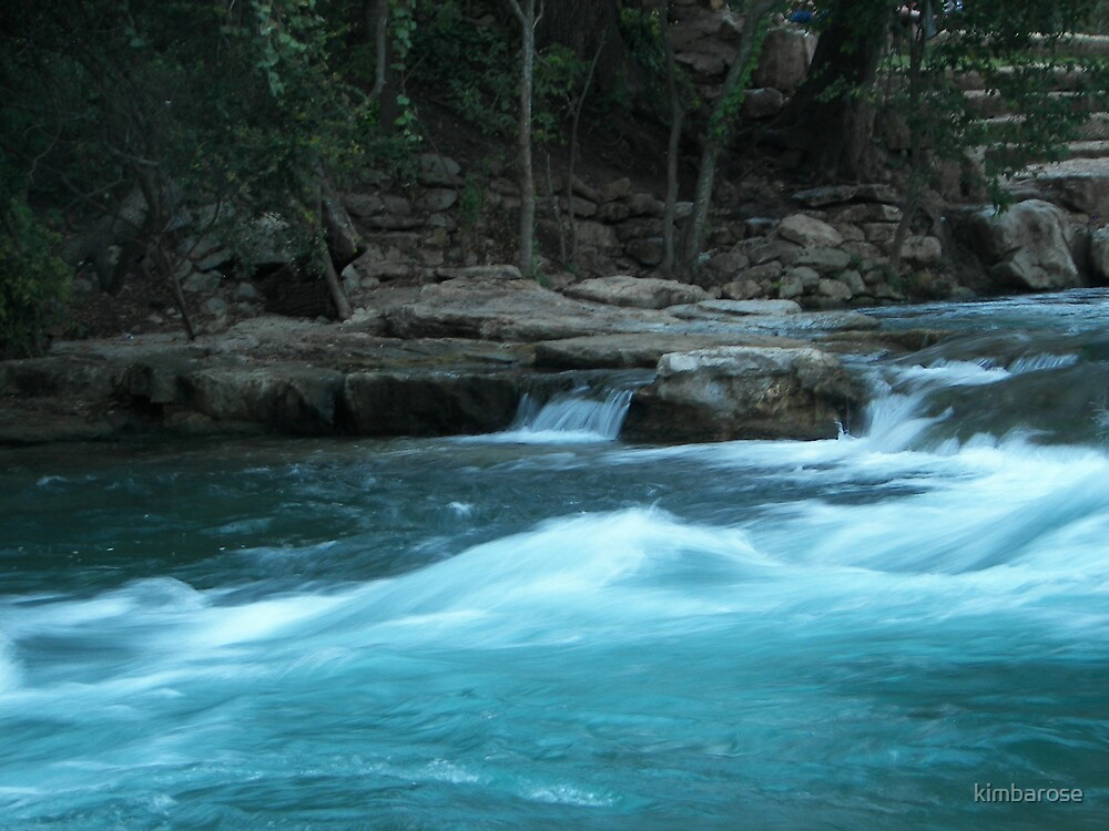 San Marcos River by kimbarose