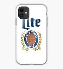 LITE (A FINE PILSNER) BEER iPhone Case