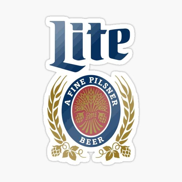 LITE (A FINE PILSNER) BEER Sticker