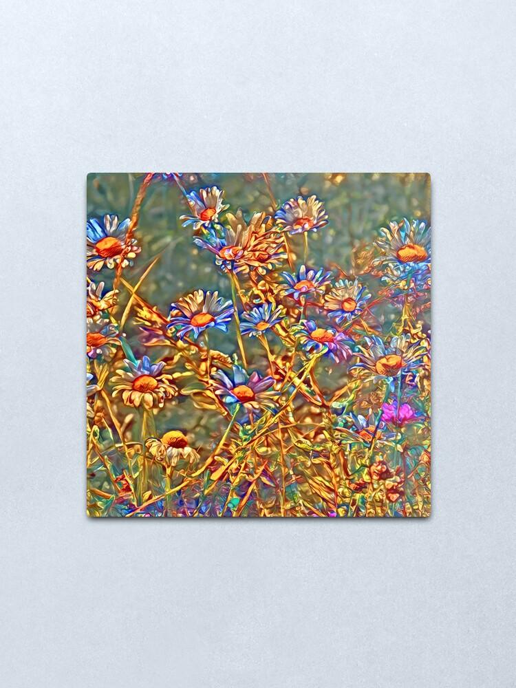 Alternate view of  Wildflowers Metal Print