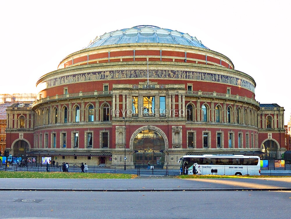 The Royal Albert Hall by Trevor Patterson
