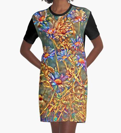 Wildflowers Graphic T-Shirt Dress