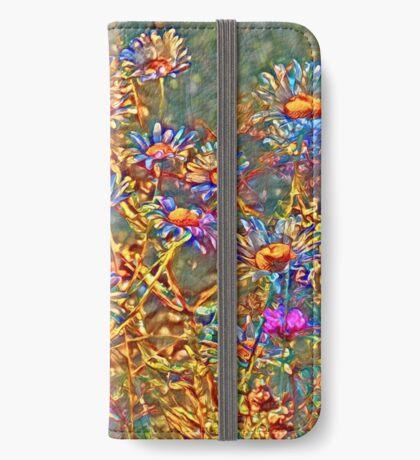 Wildflowers iPhone Wallet
