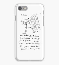 Darwin's tree iPhone Case/Skin