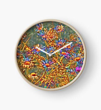 Wildflowers Clock