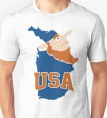 United States (a funny map) T-Shirt