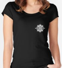 Gang Starr chest hit Women's Fitted Scoop T-Shirt