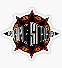 Gang Starr high quality logo Sticker