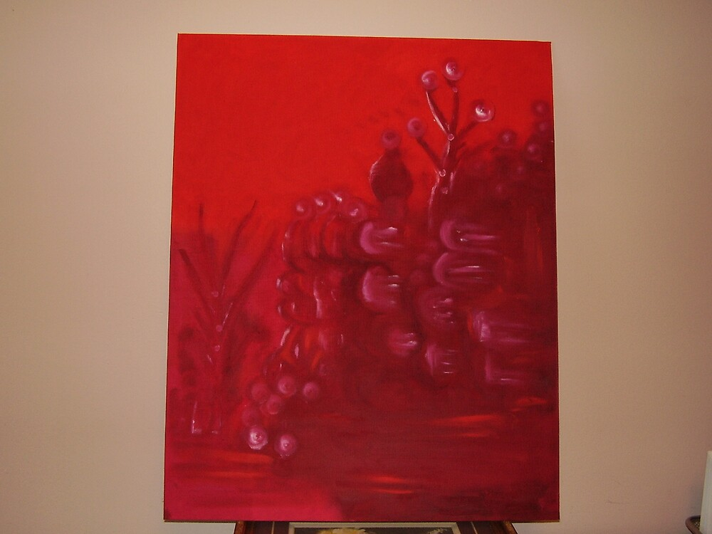 red forest by AnnasArt