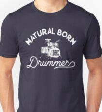 Drummer T shirt - Natural Born Drummer T-Shirt
