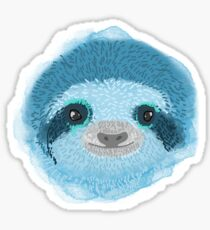 Psychedelic sloths Sticker