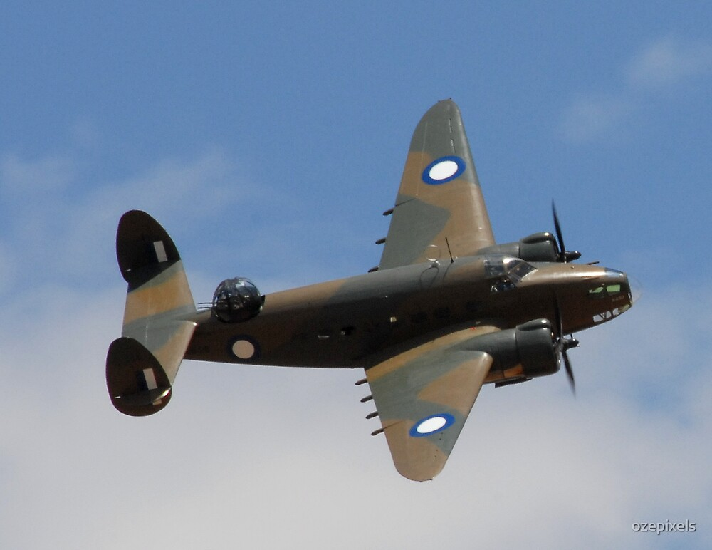 Lockheed Hudson Bomber by ozepixels