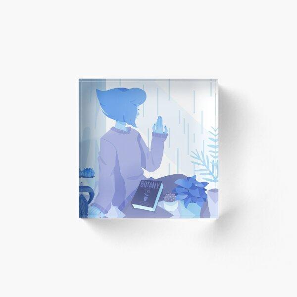 Rainy Days Acrylic Block