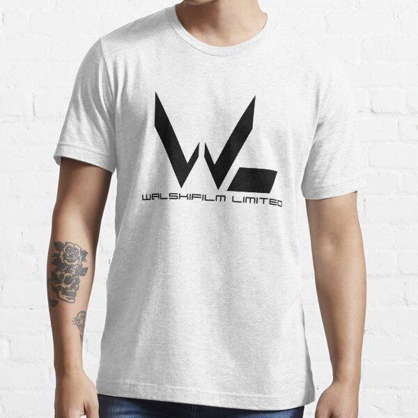 Black Walskifilm Logo Essential T-Shirt