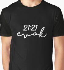Evak 21:21 Graphic T-Shirt