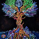 Galactic tree of life  by MichaelVee