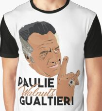 Paulie Walnuts Gualtieri Graphic T-Shirt