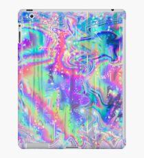 Psychedelische holographische Textur iPad-Hülle & Klebefolie