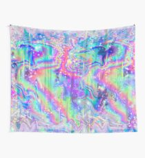Psychedelic Holographic Texture Wall Tapestry