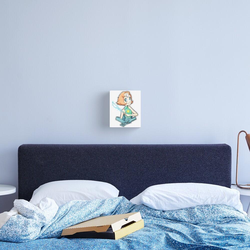 Pearl - Bird Mom Canvas Print
