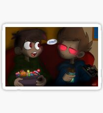 EDDSWORLD- You Can't Possess Something Twice (October) Sticker