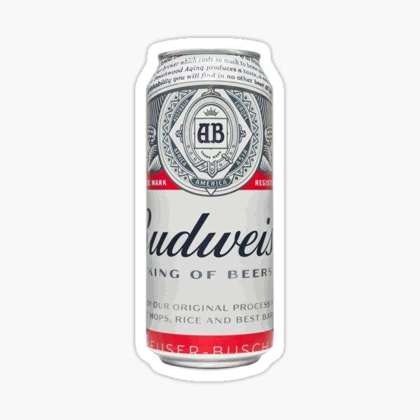Budweiser Can Sticker