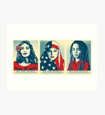 Women's March Official Poster 2017 HD Art Print