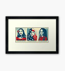 Women's March Official Poster 2017 HD Framed Print