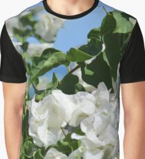 Easter White Graphic T-Shirt