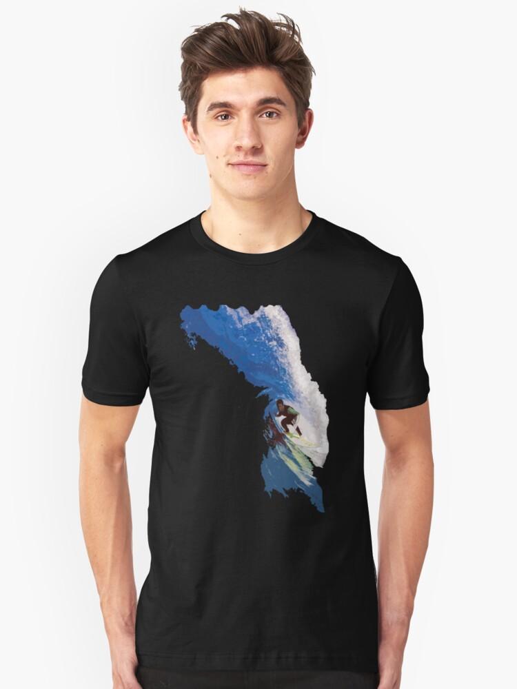 Surfing Unisex T-Shirt Front