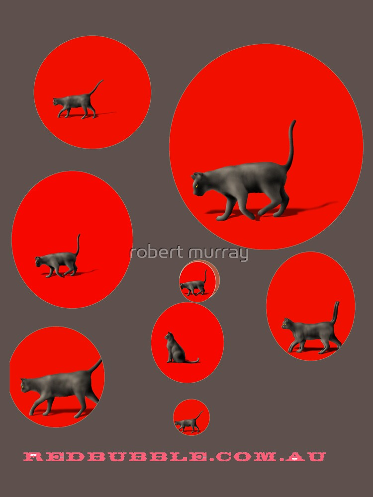 Cats in a Red Bubble by treborbob