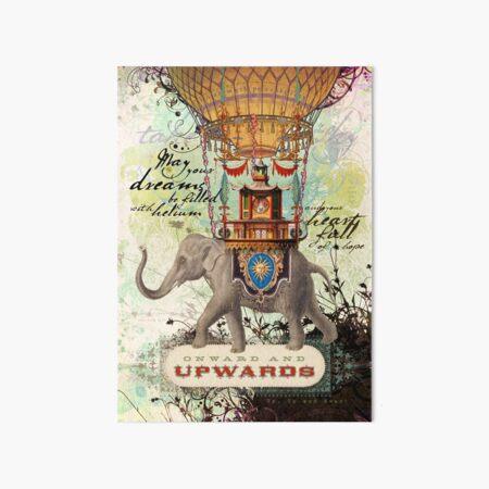 Onward and Upwards Art Board Print