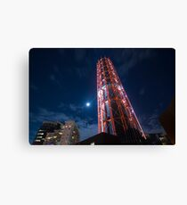 Smoke Stack Citylink Canvas Print
