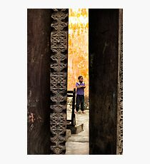 African boy in Stone Town Photographic Print