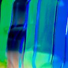 Abstract in Blue and Green by Shulie1