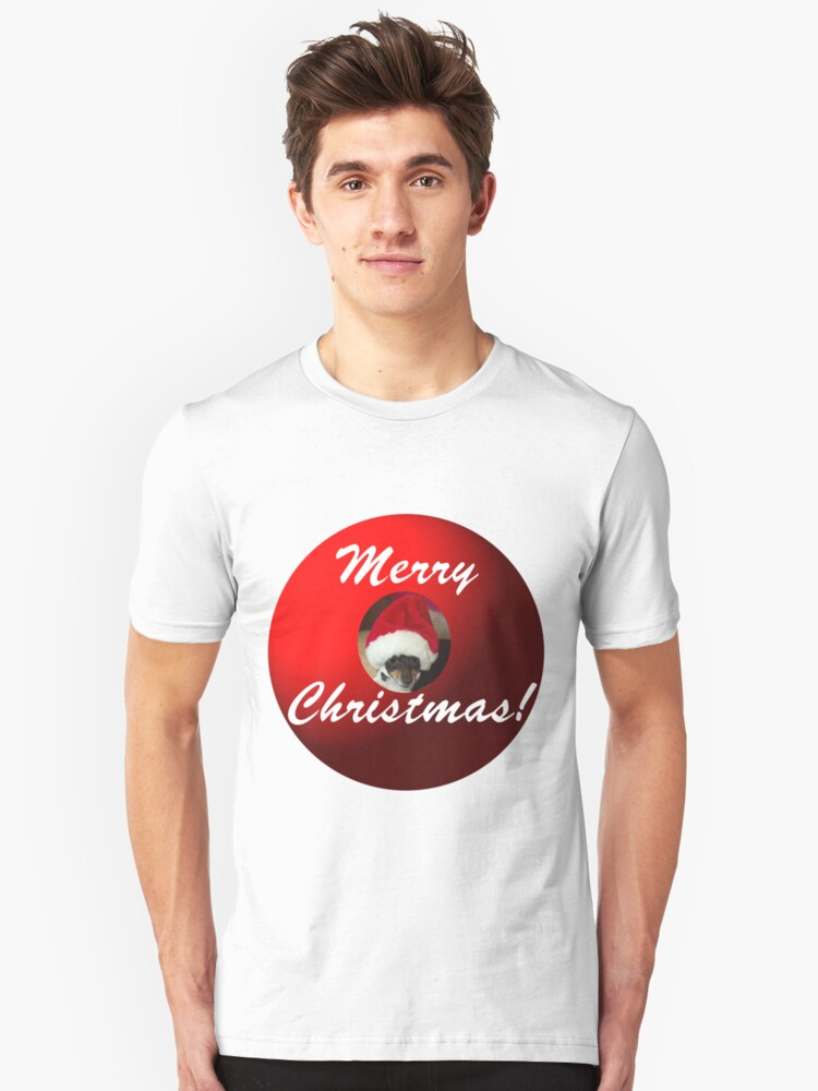 Merry Christmas! From Santa Mickey Unisex T-Shirt Front
