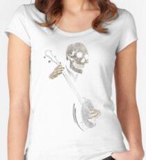 Skullboys' Banjo Blues Women's Fitted Scoop T-Shirt