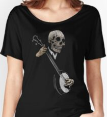 Skullboys' Banjo Blues Women's Relaxed Fit T-Shirt