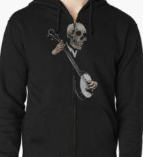 Skullboys' Banjo Blues Zipped Hoodie