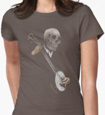 Skullboys' Banjo Blues Womens Fitted T-Shirt