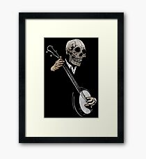 Skullboys' Banjo Blues Framed Print