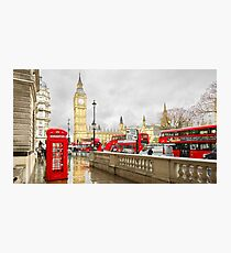 London Reds Photographic Print