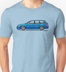 Four Rings RS4 A4 Avant Quattr0 B5 Type 8d Wagon Nogaro Blue Unisex T-Shirt